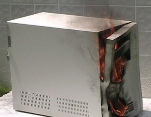 Burning PC